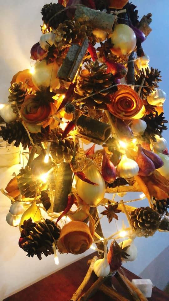 tự làm cây thông Noel 2
