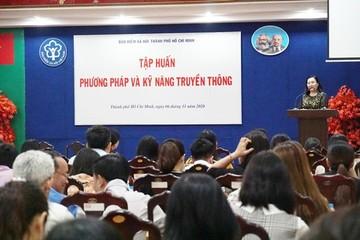 BHXH TP.HCM tổ chức tập huấn về phương pháp và kỹ năng truyền thông