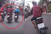 Clip: 'Đứng tim' xem cảnh sát hình sự TP.HCM truy đuổi cướp 5km giữa phố đông