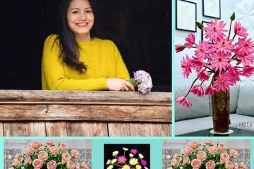 """20 mẫu cắm hoa """"vạn người mê"""" của một mẹ đảm ở Hà Nội"""