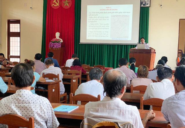 Tuyên truyền biển đảo, Luật Cảnh sát biển Việt Nam cho nhân dân Phú Quốc