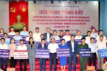 Bộ trưởng Đào Ngọc Dung: Tuyên Quang cần giảm nghèo nhanh, bền vững giai đoạn 2021-2026