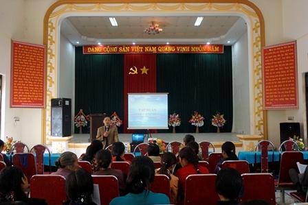 Ninh Bình: Tập huấn ATTP cho cán bộ tuyến xã, phường