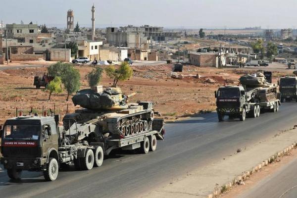 thổ nhĩ kỳ,quân đội nga,quân đội syria,idlib