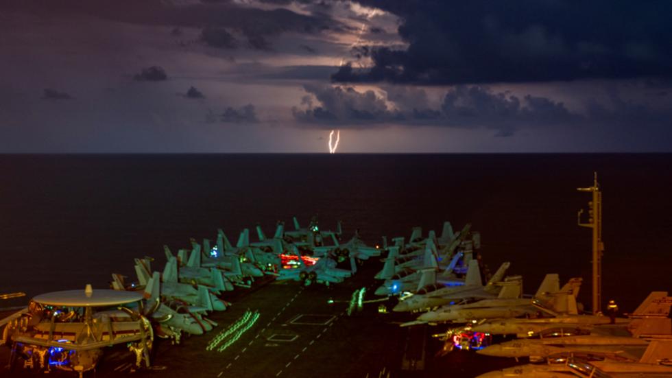 trump,quân đội mỹ,tàu sân bay mỹ