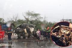Quảng Nam: Tài xế xe đầu kéo tử vong sau cú tông xe tải đang dừng đèn đỏ