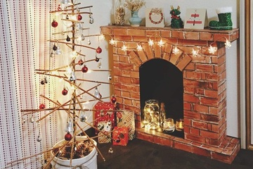 Trang trí Noel lung linh bằng những vật dụng đơn giản sẵn có trong nhà