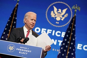 Video 'hiếm hoi' ghi lại quay cảnh ông Biden bị thương ở chân