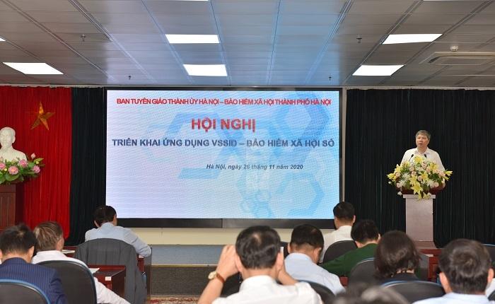 """Hà Nội giới thiệu ứng dụng """"VssID- Bảo hiểm xã hội số"""""""
