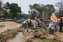 Lâm Đồng: Đã tìm thấy thi thể 1 nữ du khách bị lũ cuốn trôi