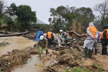 Lâm Đồng: Đã tìm thấy thi thể 1 nữ nạn nhân bị lũ cuốn trôi khi đi du lịch