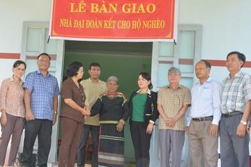 Ủy ban MTTQ Việt Nam tỉnh Đắk Lắk phát huy vai trò trong công tác giảm nghèo