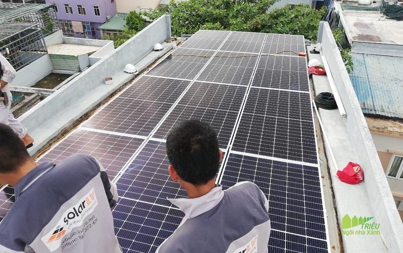 Điện mặt trời,Năng lượng mặt trời,Điện mặt trời áp mái