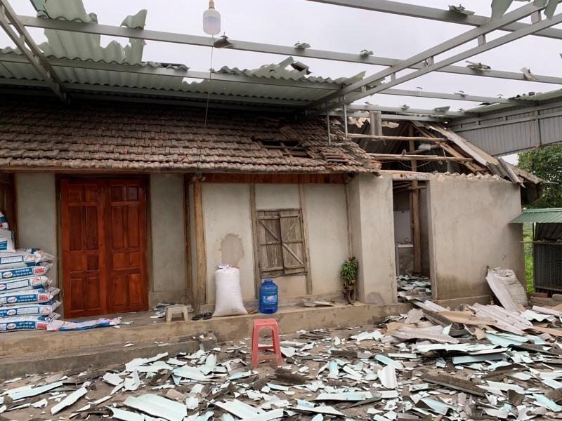 xây nhà trái phép,chủ tịch xã,huyện Thạch Hà