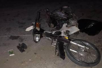 Tài xế ô tô tông chết người trên quốc lộ, rơi cả biển xe và ba đờ sốc