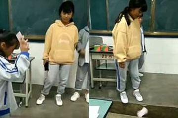 Tranh cãi cô giáo bắt học sinh đập vỡ điện thoại trước lớp
