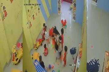 Cô giáo đánh, xách tay trẻ: Thu hồi giấy phép cơ sở mầm non