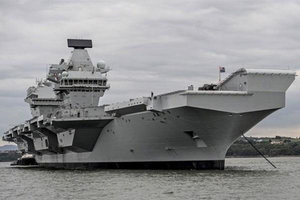 Hải quân Anh có động thái 'hiếm hoi' ở vùng biển gần Nhật Bản