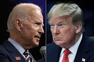 Tỷ lệ ủng hộ ông Biden luôn cao hơn ông Trump
