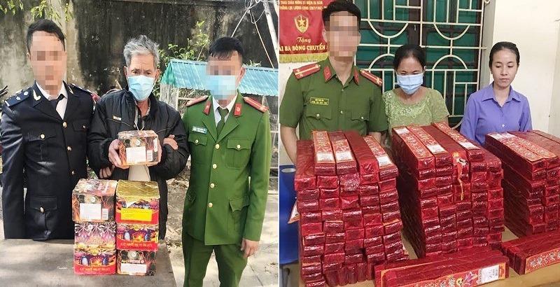 Triệt phá đường dây mua bán pháo nổ ở ven biển Nghệ An, thu giữ hơn 2,5 tạ pháo tang vật