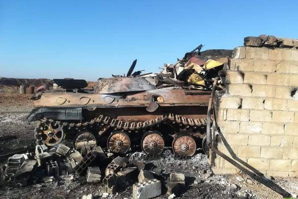 Tình hình Syria: Thổ Nhĩ Kỳ bất ngờ tấn công, hủy hoại xe bọc thép Syria