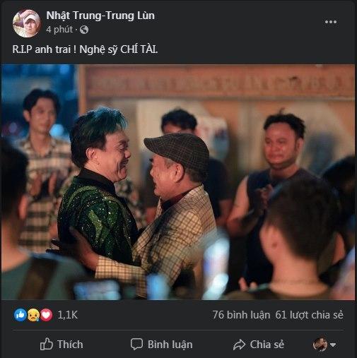 Chí Tài đột quỵ