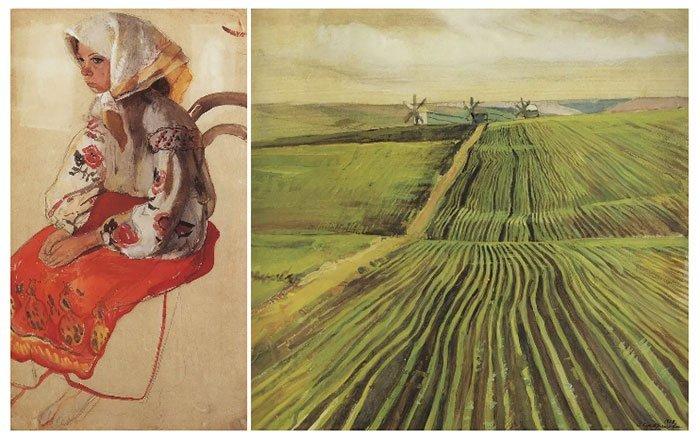 Nữ danh họa Zinaida Serebriakova được Google kỷ niệm ngày sinh