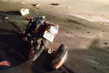 Truy tìm ô tô gây tai nạn làm 2 người tử vong trong đêm