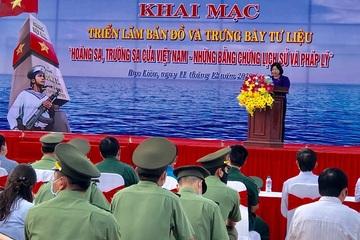Bạc Liêu: Triển lãm bản đồ và trưng bày tư liệu về Hoàng Sa, Trường Sa của Việt Nam