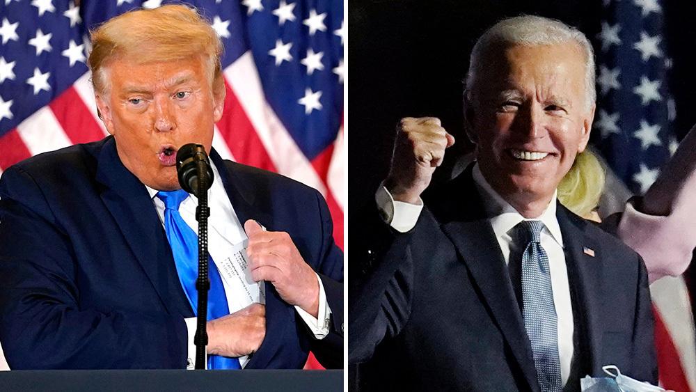 Ông Trump chính thức bị thua, ông Biden được xác nhận chiến thắng