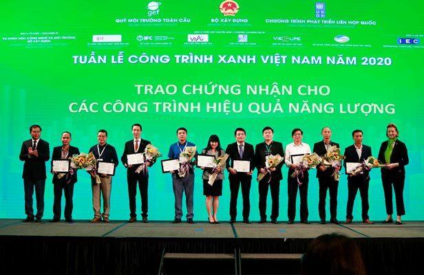 Nhiều công trình ở Việt Nam mang lại tiềm năng tiết kiệm năng lượng từ 25%-67%