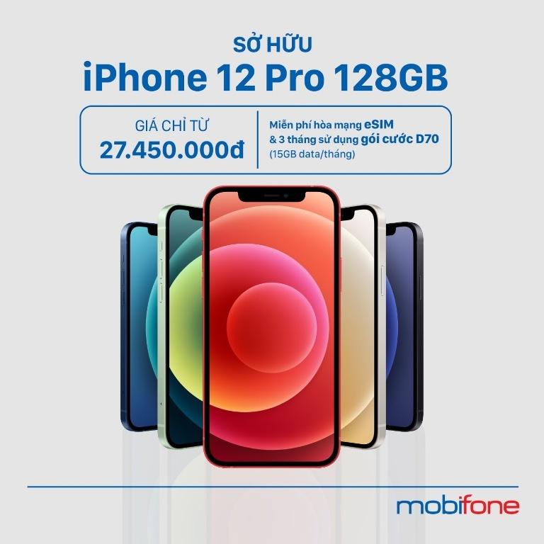 Tậu Iphone 12, xài mạng 5G, kèm cực nhiều ưu đãi khủng từ MobiFone