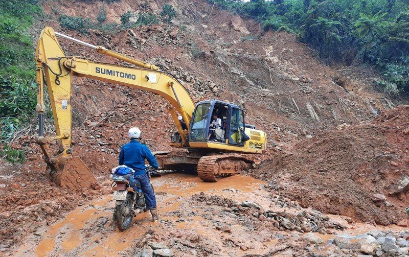 Quảng Nam: Dựng nhà, bố trí khu tái định cư cho người dân vùng sạt lở