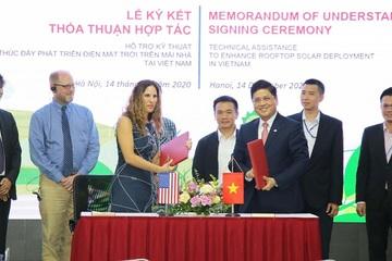 EVN và USAID ký kết hợp tác phát triển điện mặt trời mái nhà tại Việt Nam