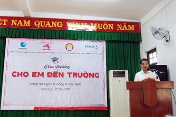 Ajinomoto 17 năm liên tiếp đồng hành cùng học sinh hiếu học Đồng Nai