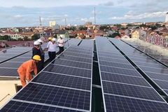 EVNSPC đã thanh toán trên 539 tỷ đồng tiền điện mặt trời mái nhà