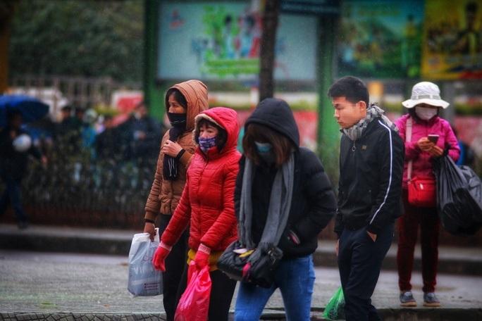 Giá rét bao trùm miền Bắc và Bắc Trung Bộ, Hà Nội không mưa