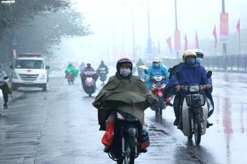 Miền Bắc nhiều nơi mưa to, đề phòng có mưa đá