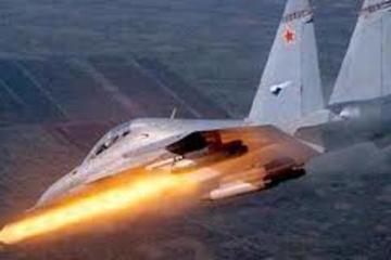 Tình hình Syria: Cận cảnh không quân Nga bắn nổ tung cứ địa IS