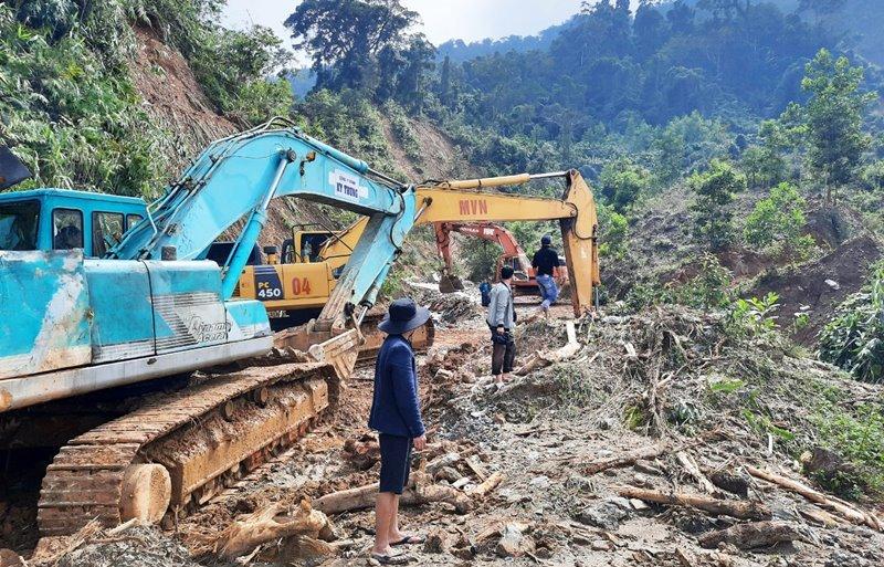 Quảng Nam: Tập trung khắc phục hậu quả thiên tai, ổn định đời sống người dân