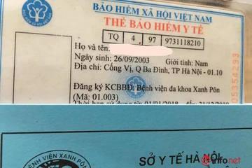 Thuận lợi từ thẻ BHYT mẫu mới được sử dụng trên toàn quốc từ 1/4