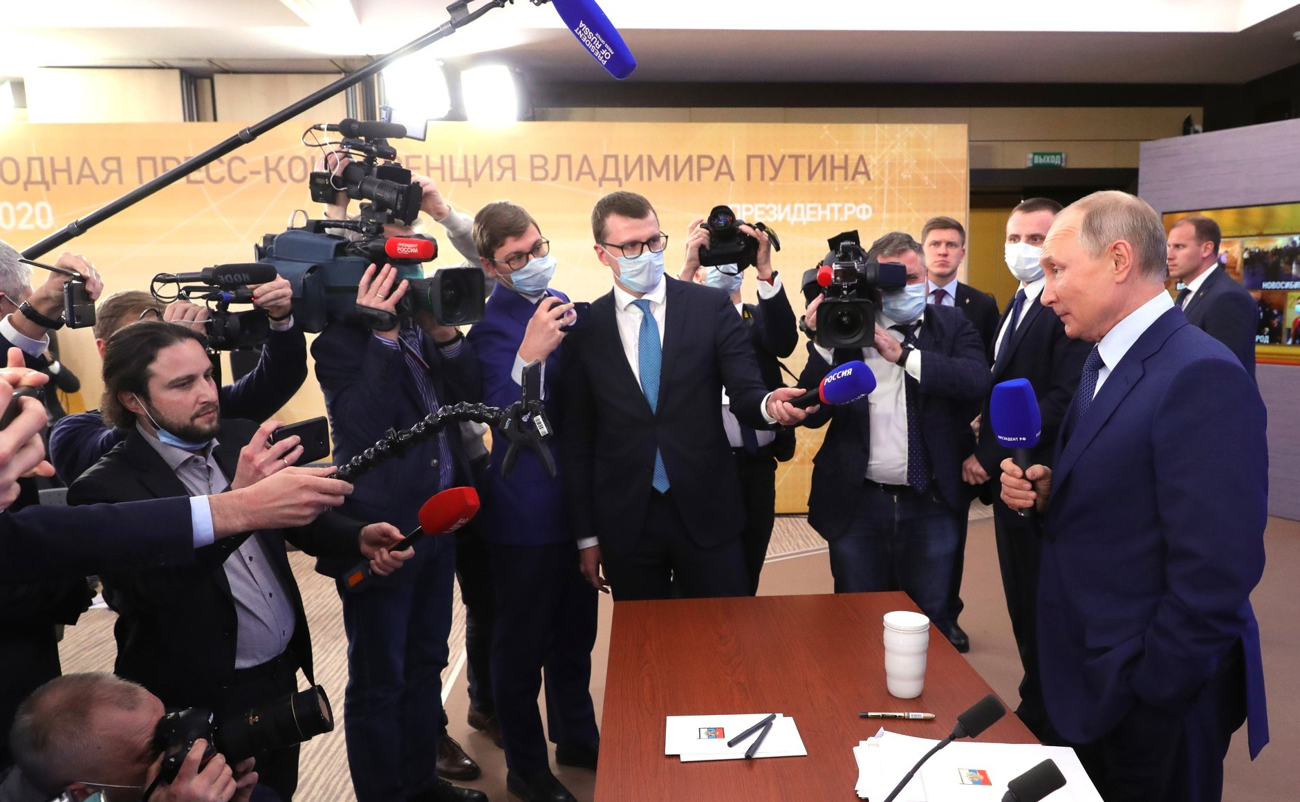 Toàn cảnh cuộc họp báo thường niên năm 2020 của Tổng thống Putin