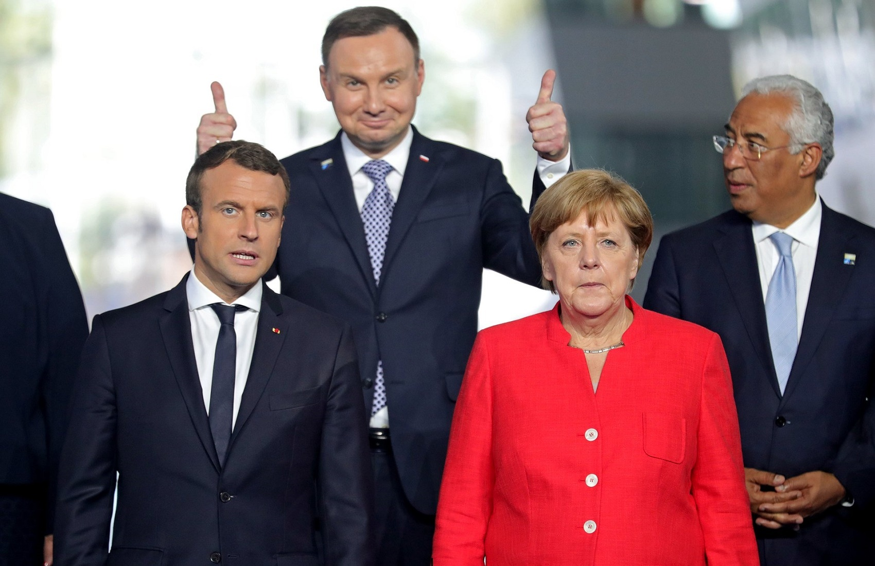 Nhà lãnh đạo thế giới nào được sự tin tưởng nhất của người Ukraine?