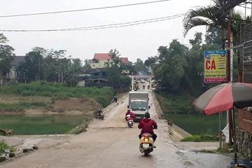 Hà Tĩnh: Đề xuất làm mới nhiều cầu tràn đã hư hỏng xuống cấp do bão lụt