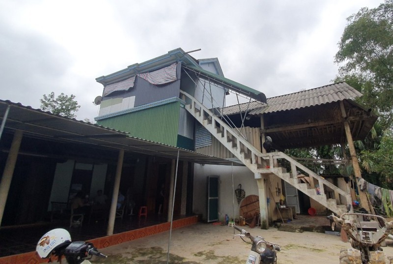 Nhà phao - cứu cánh của người dân nghèo vùng lũ ở Hà Tĩnh