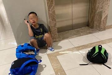Cậu bé 7 tuổi giận mẹ bỏ nhà đi với 3 balo truyện... nhưng quên mang dép