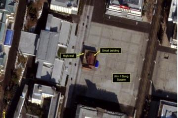 Hé lộ về 'công trình bí ẩn' xuất hiện ngay trung tâm Triều Tiên