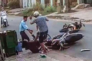 Ngăn thói côn đồ sau va chạm giao thông