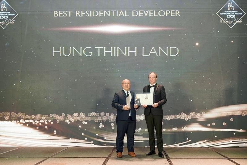 Hưng Thịnh Land: Nhà phát triển BĐS nhà ở tốt nhất Đông Nam Á 2020
