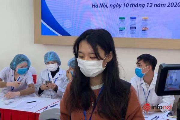 Sức khỏe của 3 người Việt đầu tiên tiêm vắc xin Covid-19 ra sao?